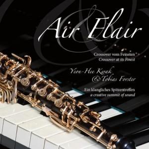 Album Air & Flair, Yeon-Hee Kwak (Oboe) und Tobias Forster (Klavier)