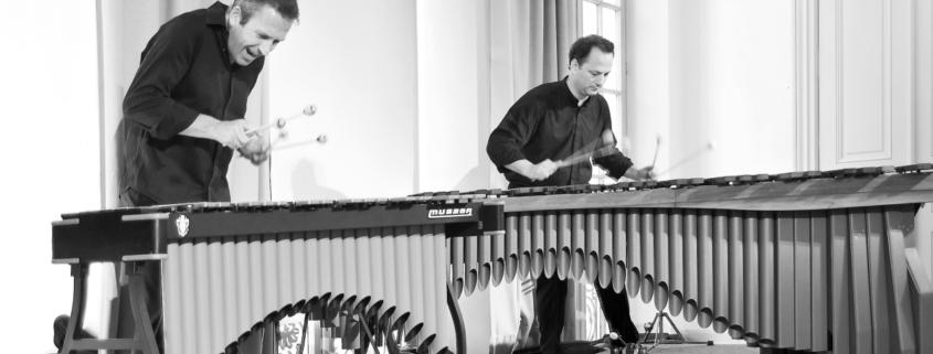 Klaus Schwaerzler, Benjamin Forster, Pianosalon Jazztage Dresden, Photo by H.J Maquet