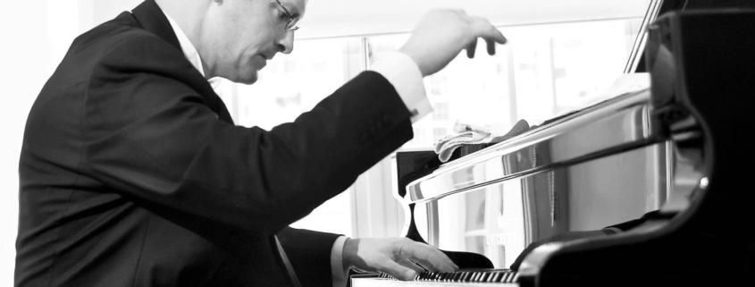 Tobias Forster Pianosalon Jazztage Dresden, Photo by H.J. Maquet