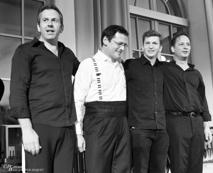 Tobias-Forster-Trio, Gabriel-Forster, Pianosalon Jazztage Dresden, Photo by H.J. Maquet